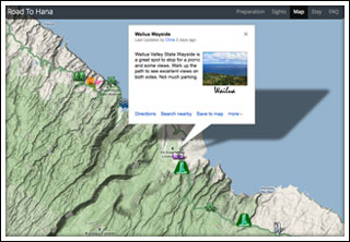 Road To Hana Map